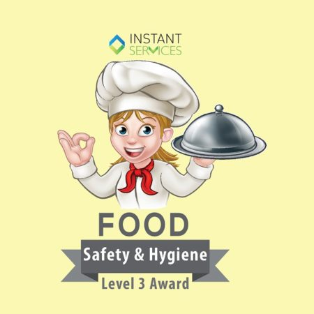 Level 3 Award in Food Safety for Catering (Online)